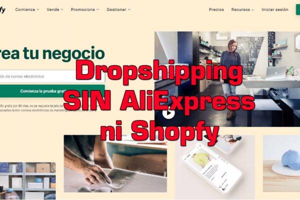 Dropshipping sin AliExpress ni Shopify